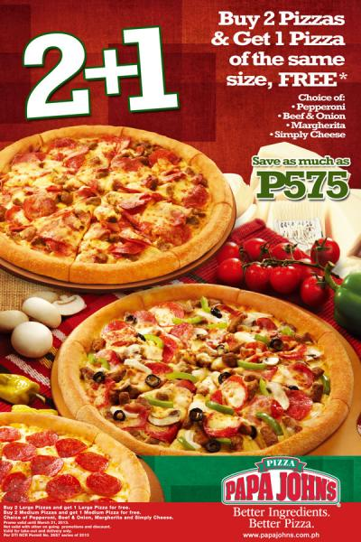 promo codes for papa johns canada