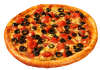 Kalamata Tomato Pizza
