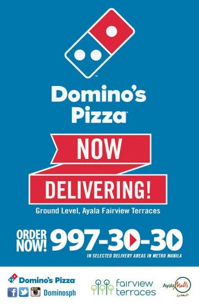 domino's ayala fairview terraces